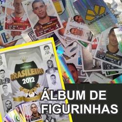 Álbum figurinhas Brasileirão 2012