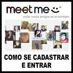 MeetMe Entrar Cadastrar