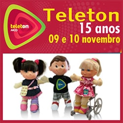 Doações Teleton SBT AACD