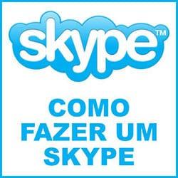 Fazer conta Skype