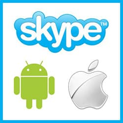 Skype iPhone Android