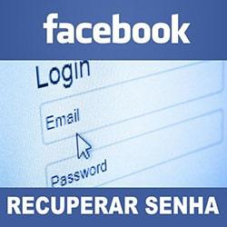 Recuperar senha Facebook