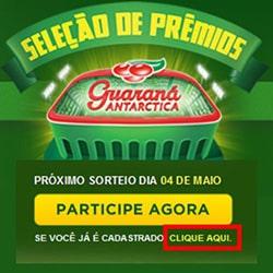 Cadastrar promoção Seleção Prêmios