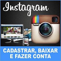 Instagram Cadastrar Conta Baixar