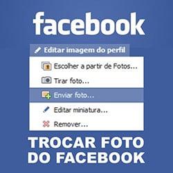 Trocar foto perfil Facebook
