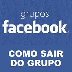 Sair Grupo Facebook