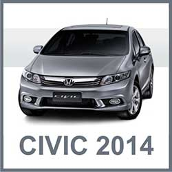 Novo Honda Civic 2014