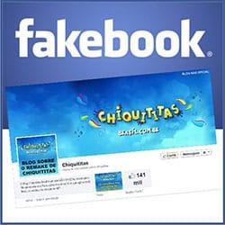 Página fãs Chiquititas Facebook