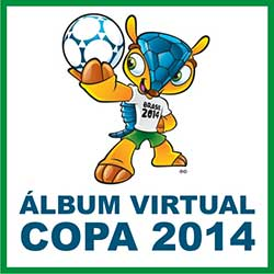 Álbum Virtual Copa Mundo 2014