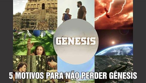 Motivos não perder novela Gênesis